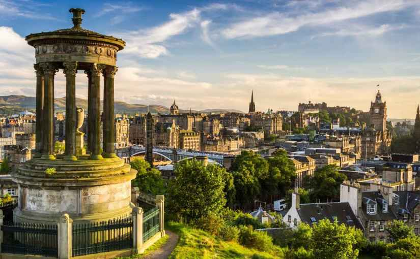 🔥🔥🔥 City Break 3 zile la Edinburgh- 60 euro, în perioada 4-6 martie 2020, zbor dinBucurești