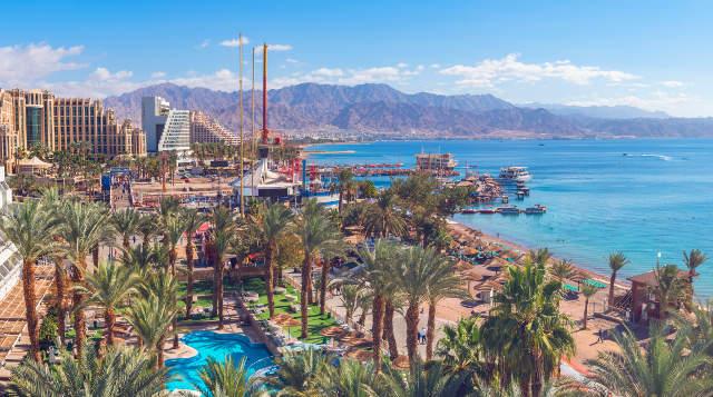 Sejur o saptamana in Eilat (zbor&cazare 7 nopti), in perioada 17-24 martie 2020, zbor dinBucurești